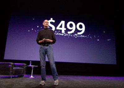 Steve Jobs iPad 499