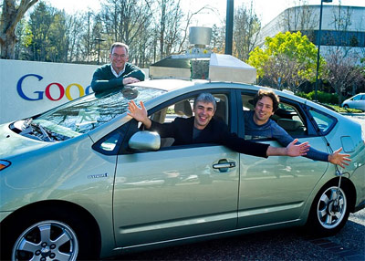 Eric Schmidt Larry Page Sergey Brin