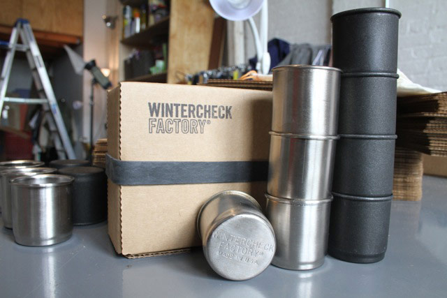 Wintercheck metal stamper