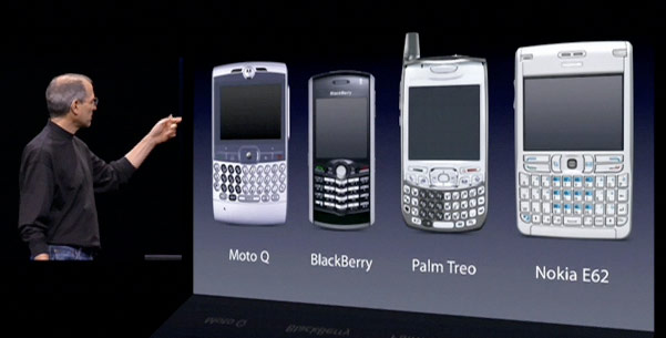 Steve Jobs smartphones