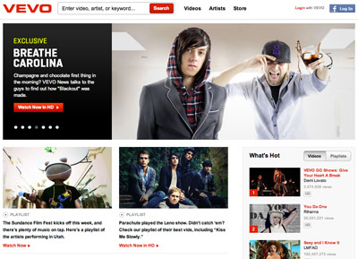Why Vevo won't ditch YouTube for Facebook - FromeDome
