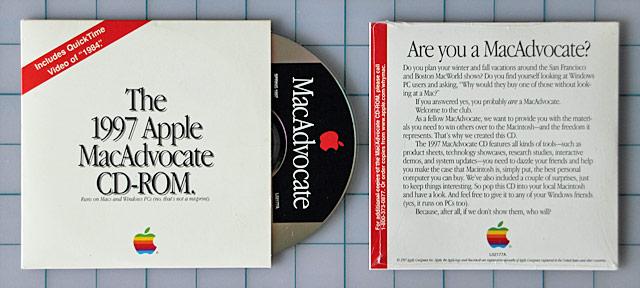 MacAdvocate CD-ROM