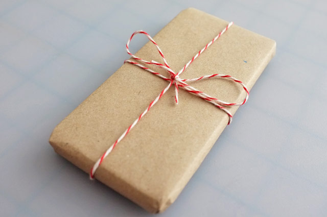 iPhone gift wrap